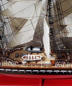 Belem painted 80 cm hull red36 1
