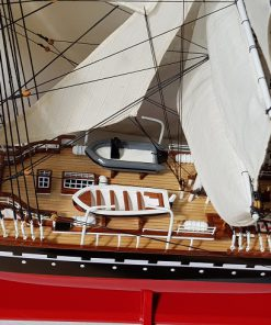 Belem painted 80 cm hull red37