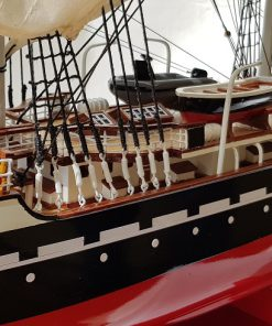 Belem painted 80 cm hull red42