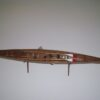 Wooden Yole Rowing Boat